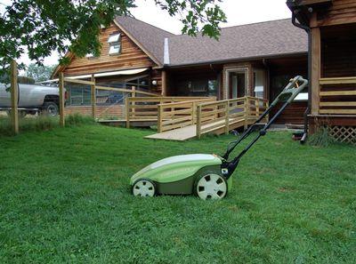 Neuton lawn mower