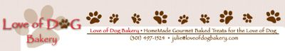 Love od Dog Letterhead Logo
