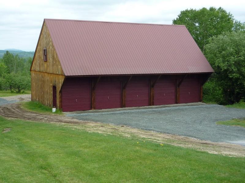Lancaster equipment shed