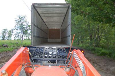 Moving Van Empty
