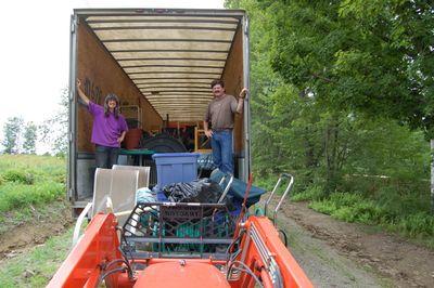 Last Moving Van Load