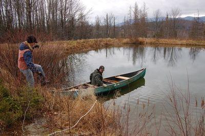 Steve in canoe 3