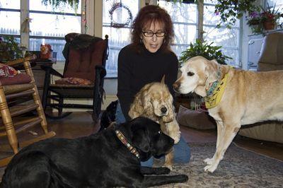 Suzi with friends