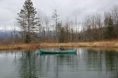 Steve in canoe 1