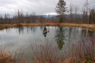 Steve in canoe 2