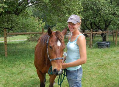 Nikki with Kate