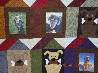 Quilt 2011 close-up