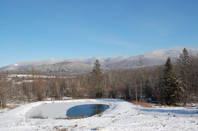 Mountains and pond Dec 24