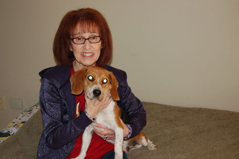 Owen with Marcia