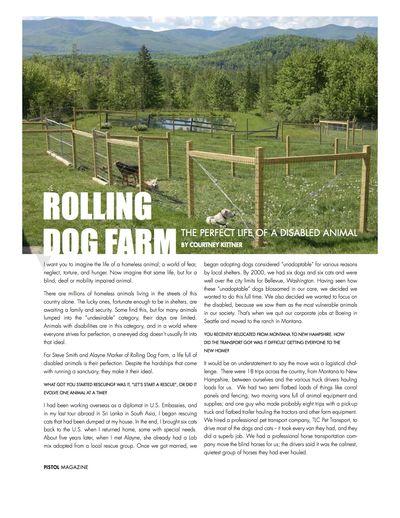 Pistol magazine story page 1