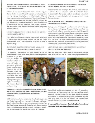 Pistol Magazine Page 2